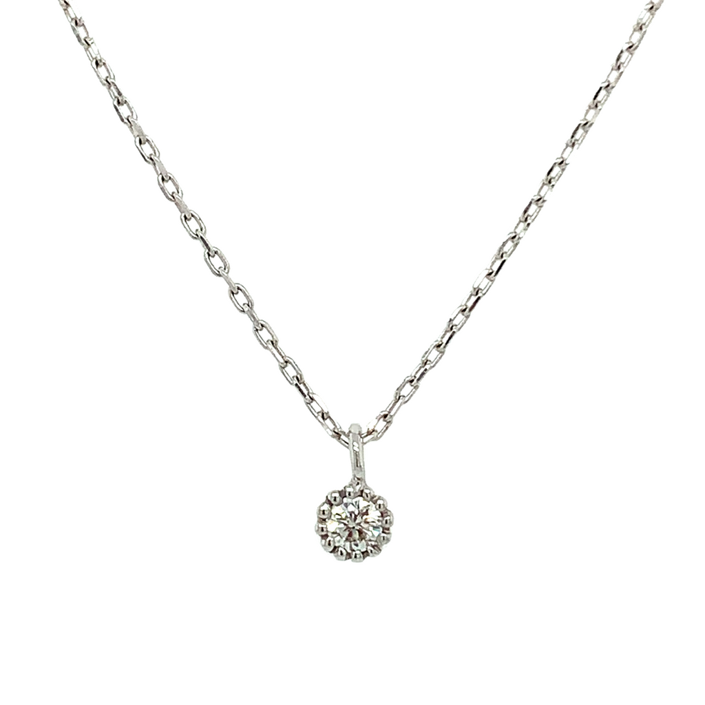 Mini Solitaire Necklace