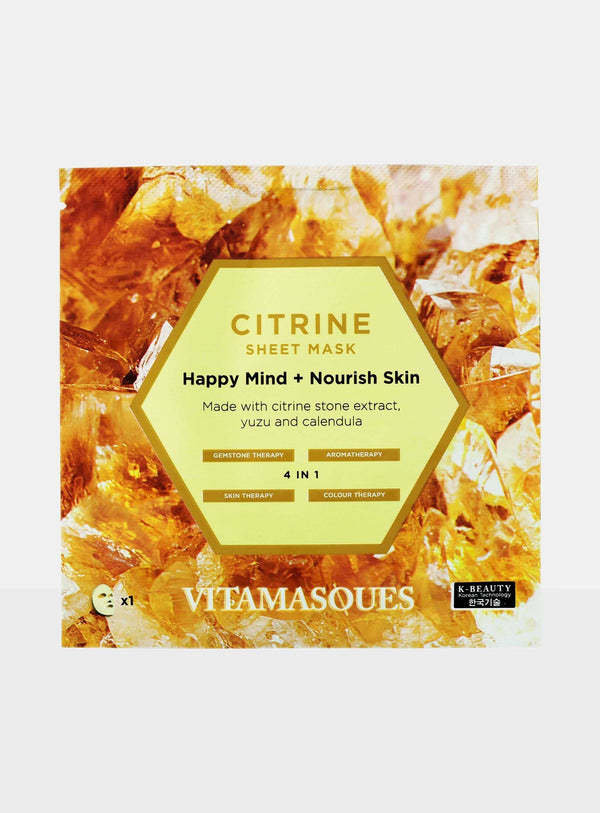 Citrine Sheet Mask
