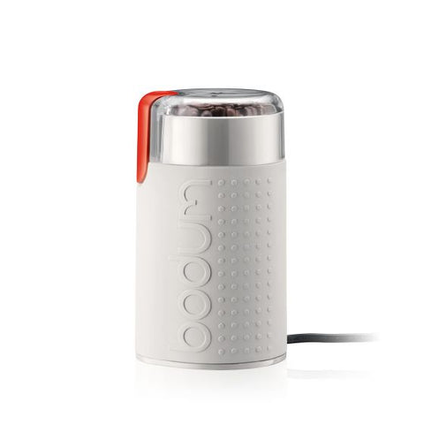 Electric Coffee Grinder - White