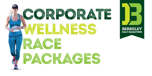 Berkeley Half Marathon Corporate Wellness Race Package - Bronze Level - Cal East Bay