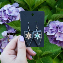 Load image into Gallery viewer, Metatron's Cube Earrings