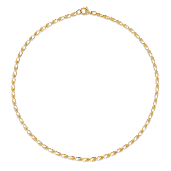 Ellie Vail - Emery Choker Chain Necklace - nineNORTH