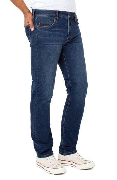 LIVERPOOL Kingston Modern Straight Eco Denim - nineNORTH