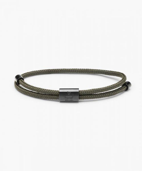 Pig & Hen Little Lewis Bracelet - Army | Black - nineNORTH