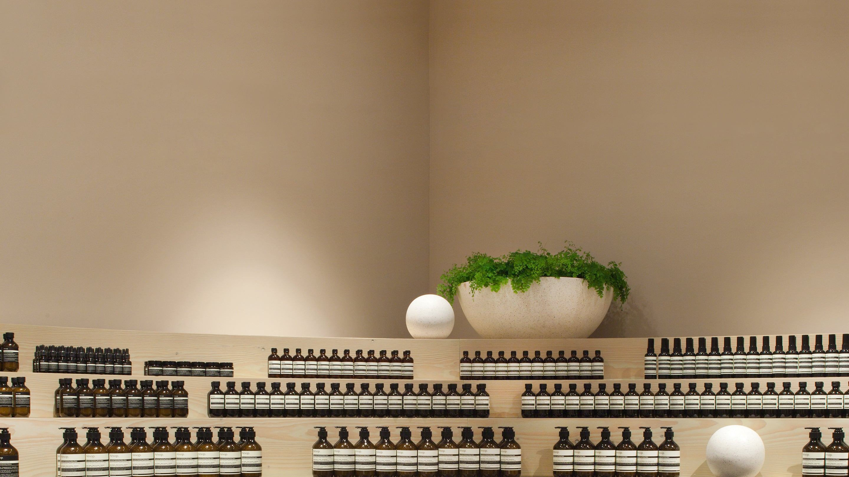 Decorative Aesop products