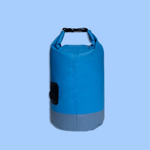 10L 藍灰拼色防水袋| 10L Blue & Grey Waterproof Drybag