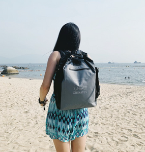 22L 灰色防水背包|22L Grey Waterproof Backpack
