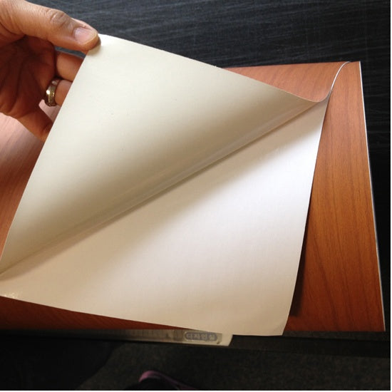 Maple Wood Effect Heavy Dutyt Self Adhesive Sticky Back Plastic Vinyl (Width: 122cm)