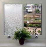 84055 Flower Decorative Frosted Window Film - DECOWALL