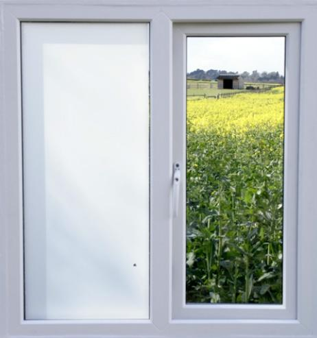 85100 Privacy Window Film (White) - DECOWALL