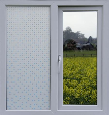 85205 Milky White Gradation Window Film_Opacity100%