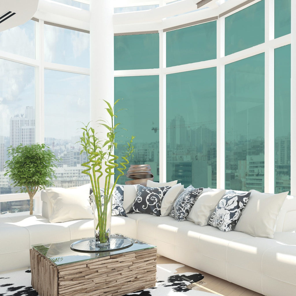 Heat Reducing Anti Glare Solar Control UV Filter Tinted Privacy Window Film (Width :1525mm)