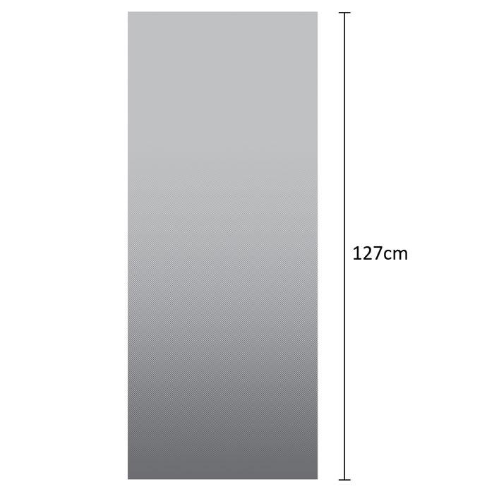 88021 Grey Dot Gradation Window Film - DECOWALL