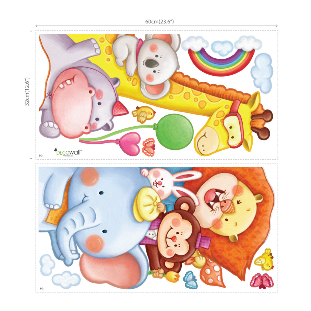 Animal Corner Wall Stickers