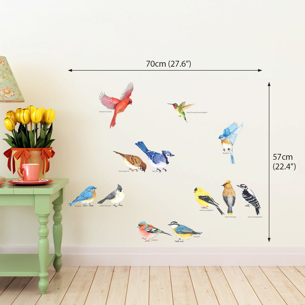 Little Birds Wall Stickers(Small) - DECOWALL