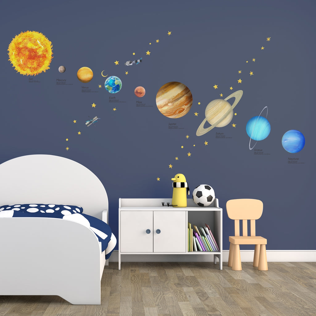 Solar System Wall Stickers