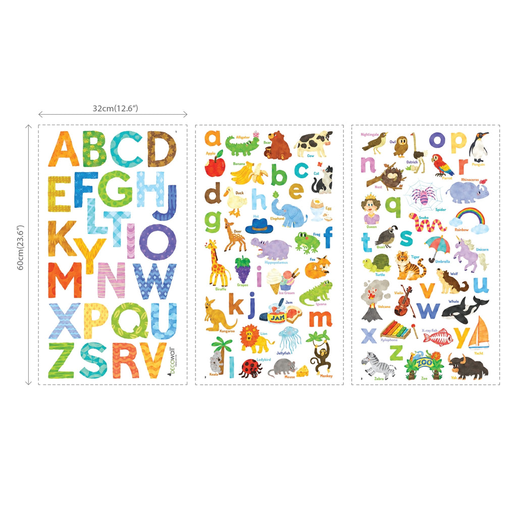 My First Alphabet Wall Stickers