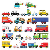 Transports Wall Stickers (Small)