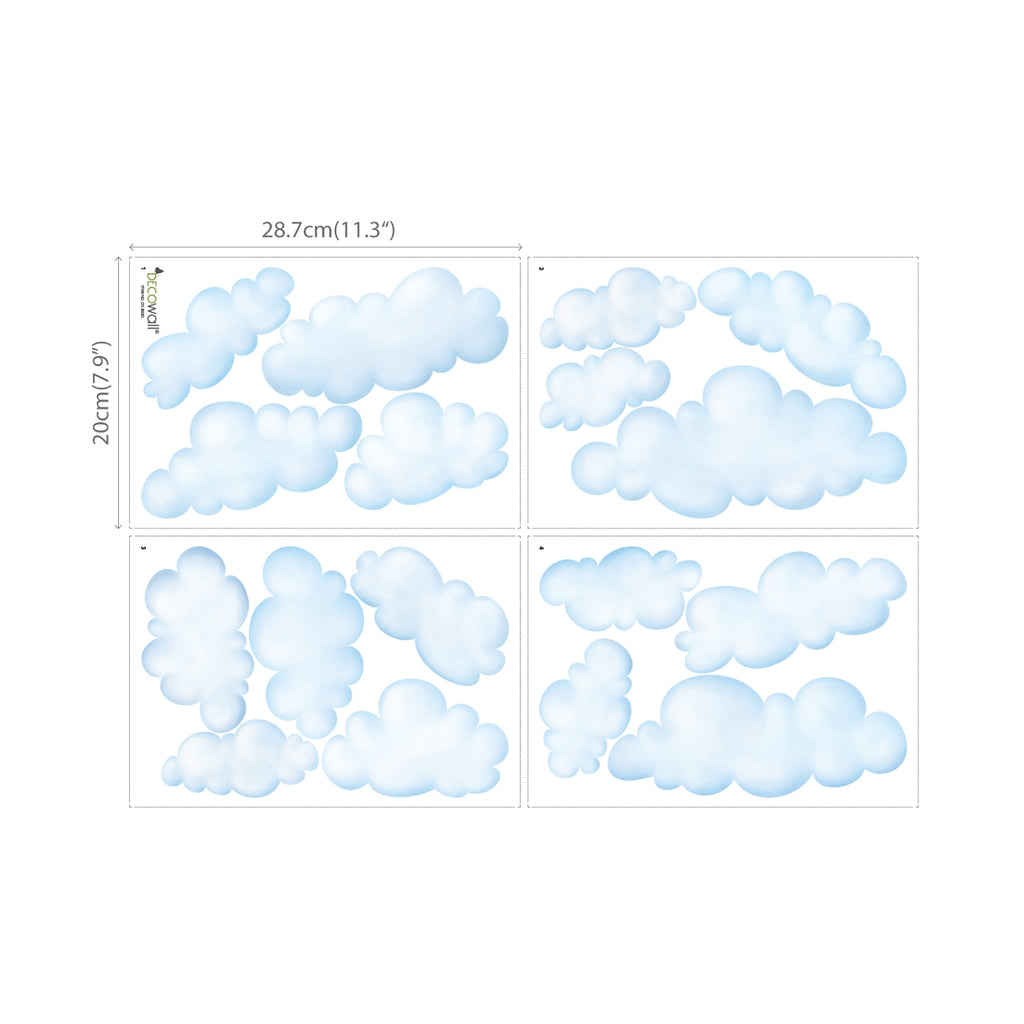 Clouds Wall Stickers (Small)