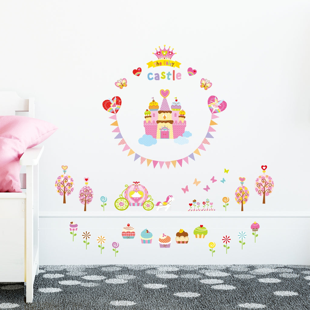The Sweet Castle Wall Stickers