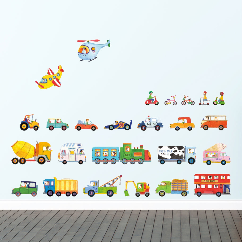 The Transports Wall Stickers