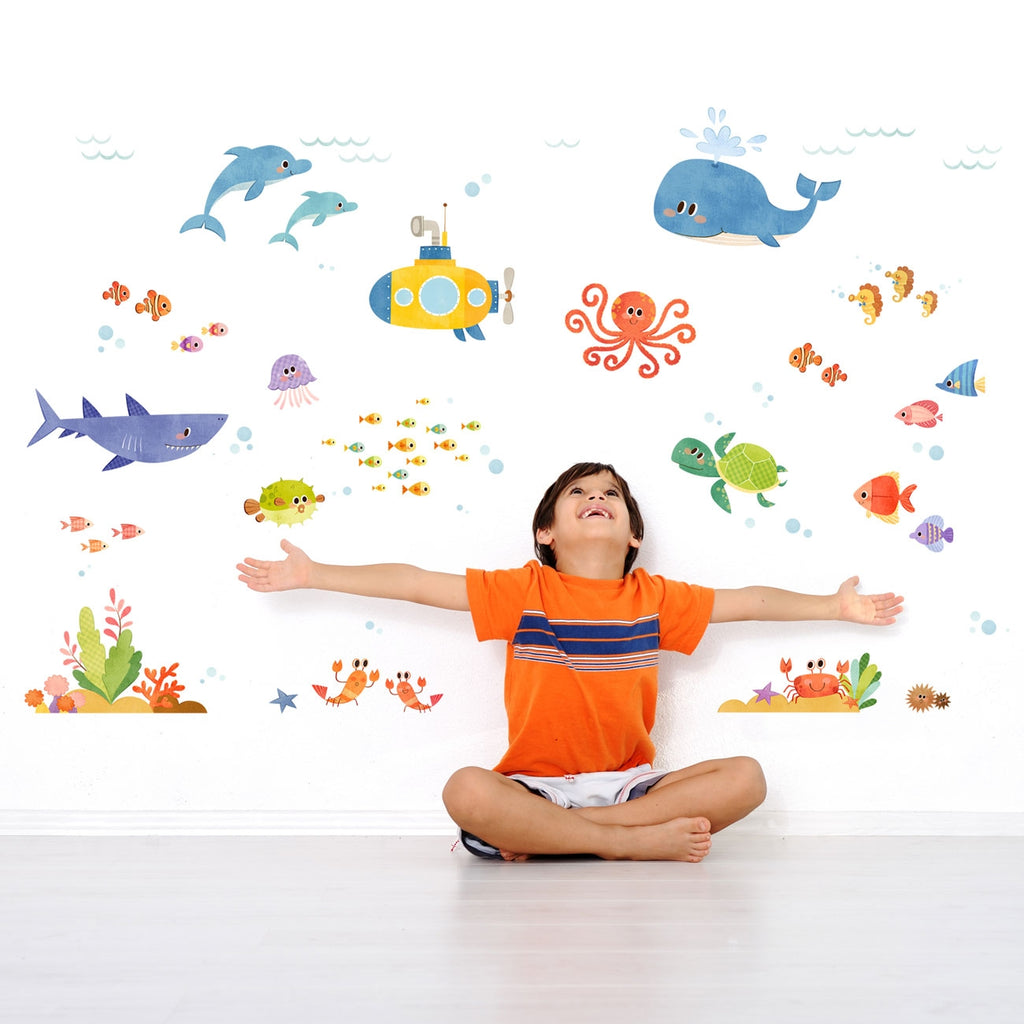 Sea Adventure Wall Stickers (Medium)