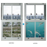 31833 Water World Decorative Window Film - DECOWALL