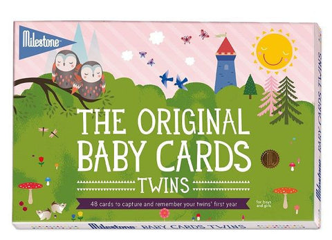 Milestone™ Baby Cards - Twin Edition