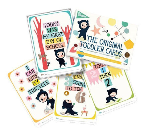 Milestone™ Toddler Cards