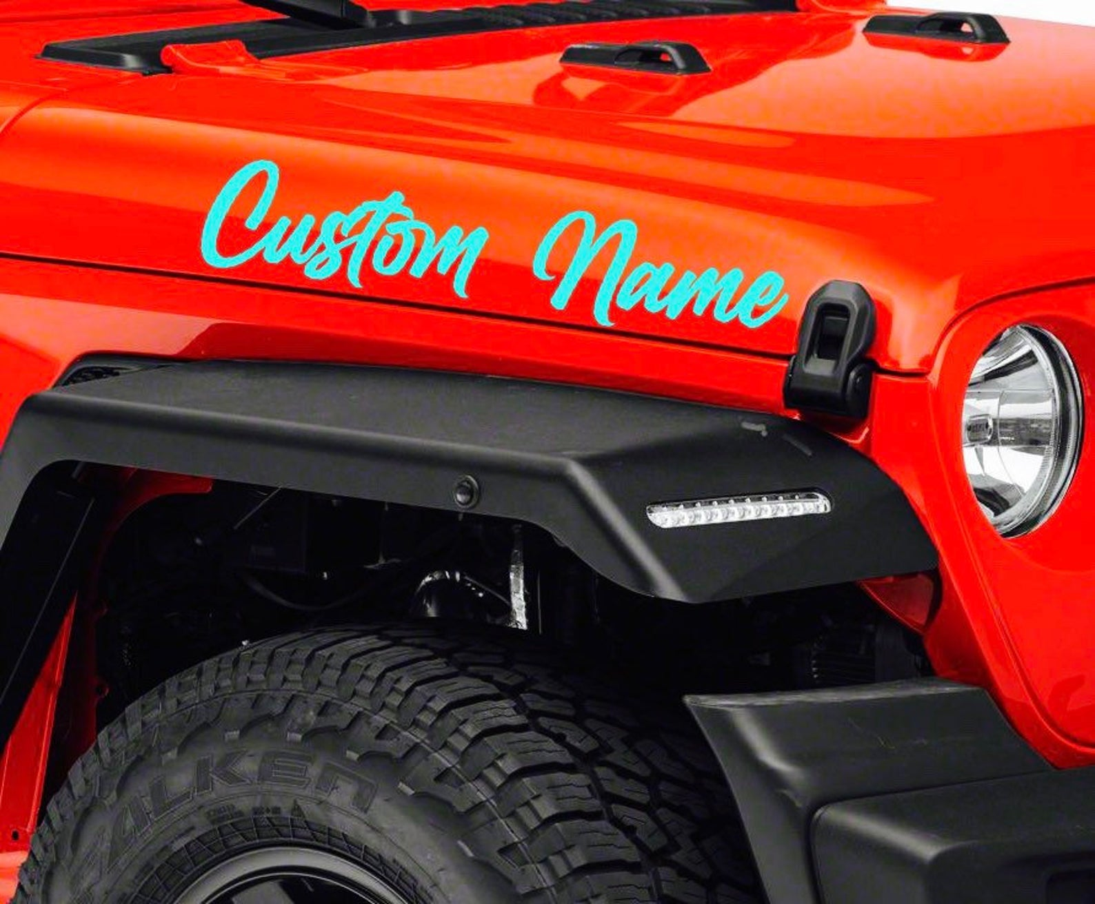 Custom Jeep Name Decals The Jeep Beep Shop