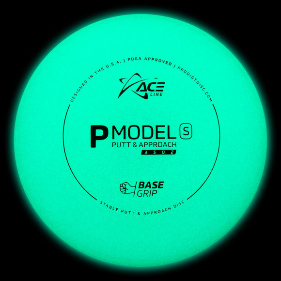 Prodigy ACE Line P Model S Glow - Cale Leiviska - Disc Golf Warehouse