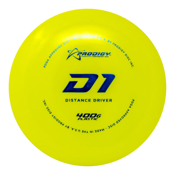 Prodigy D1 Distance Driver - Disc Golf Warehouse