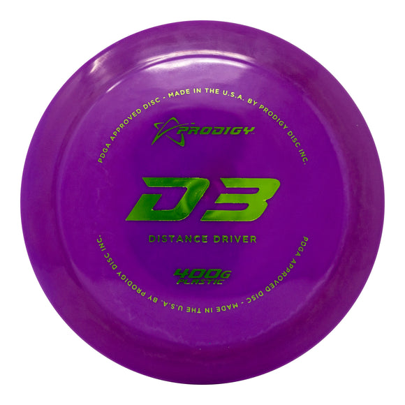 Prodigy D3 Distance Driver - Disc Golf Warehouse