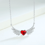 Flying Angel Wings Embellished with Crystal from Swarovski