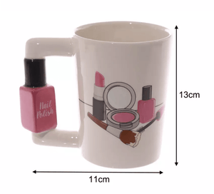 3D Hand Painted Creative Ceramic Mugs