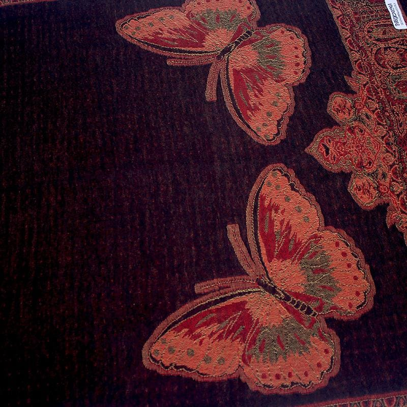 Two in One Butterfly Pattern shawl, Scarf, Hijab