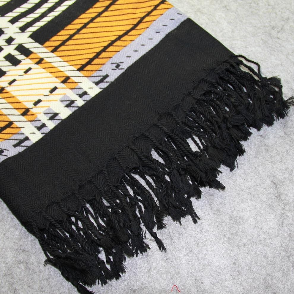 100 % WOOL VERSATILE  SCARF USE IT AS SHAWL, HIJAB OR WRAP