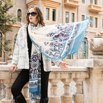 100%Pure Fine Wool  Scarf/Shawl