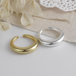 Horse Shoe Shape  Ring For Men And Women In Gold  And Silver Color