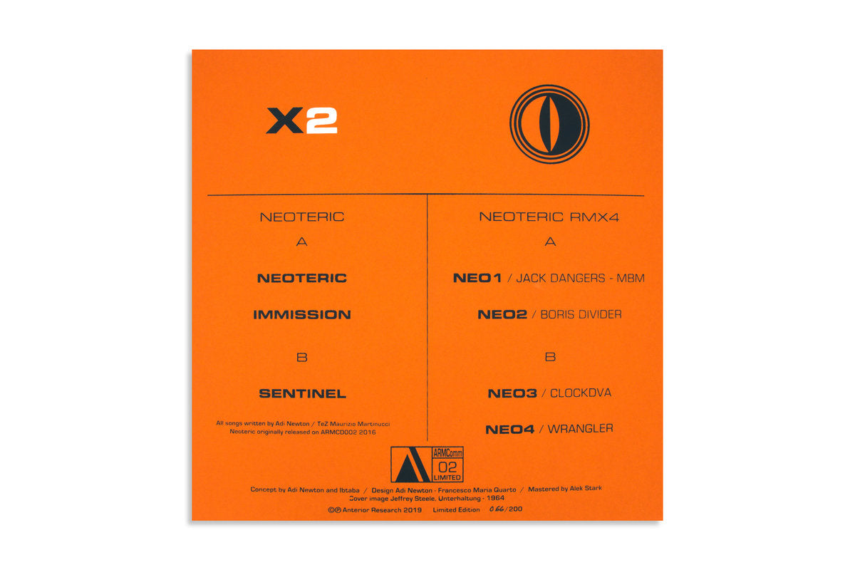 NEOTERIC RMX2 / Ltd Orange vinyl Edition