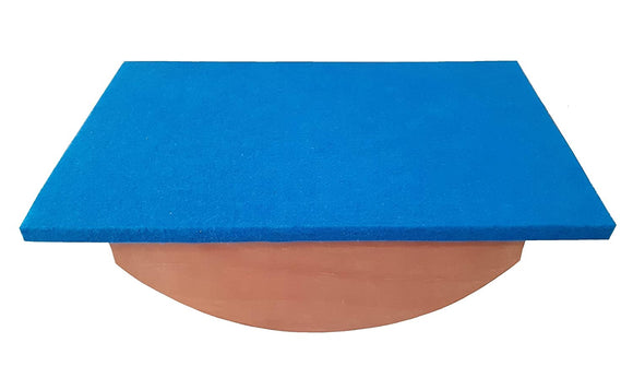 Biotronix Physiotherapy Balance Board Wooden / Equilibium Board used in Occupational Therapy Vestibular therapy