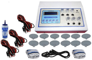 Biotronix Tens 6 Channel LCD Digital Display Auto Modes Make in INDIA Electrotherapy Physiotherapy Equipment with 2 Year Warranty
