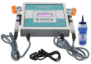 Biotronix  Ultrasonic 1 & 3 Mhz with 27 programs Ultrasound Machine Clinical LCD based Mode Make in India with 2 year warranty