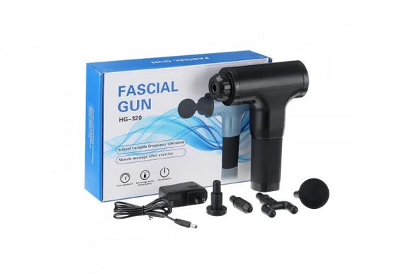 Fascial Gun HG-320 massage gun Chiropractic gun Physiotherapy gun Massage gun with 1 year warranty
