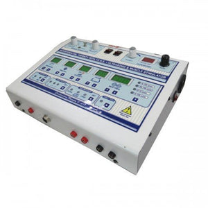 Biotronix Digital Physiotherapy Combo IFT, TENS, MS, US Combination Therapy 4 in one with 2 year Offsite warranty