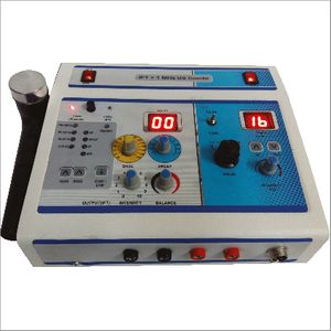 Biotronix Physiotherapy Combinatoin Electrotherapy IFT ( Interferential Therapy Analogue ) and Ultrasound Therapy 1 Mhz Make in India with 2 year warranty
