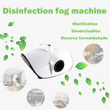 Biotronix Fogging Machine for Sanitization 900W Fogging Machine Disinfection Sterilizes Fogging Machine Air Purification Fogger for Home, Car, Office Disinfection & Sanitization with Car and Room Air Purifier