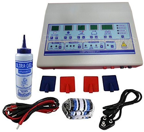 Biotronix IFT Digital 45 program Physiotherapy Electrotherapy Device with 2 year Warranty proudly make in India
