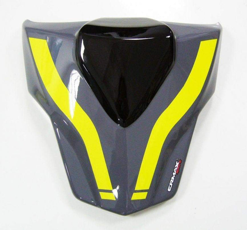 Ermax Seat Cowl Gloss Grey/Yellow (Nimbus Grey/Fluo Yellow) Yamaha MT-09 2017>2018 (p1)