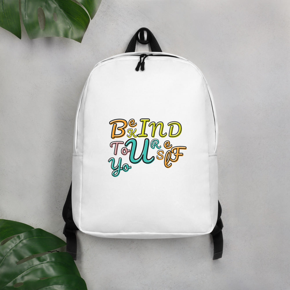 Be Kind To Yourself Minimalist Backpack